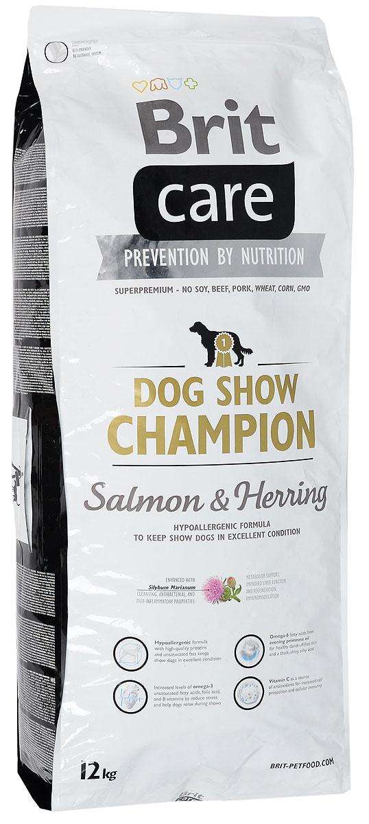 Корм сухой Brit Care, для выставочных собак, с лососем, сельдью и рисом, 12 кг8595602510405Полнорационный, гипоаллергенный корм Brit Care предназначен для взрослых собак всех пород участвующих в выставках. Повышенное содержание витамина С и жирных кислот омега-3 защитят организм собаки от вредного воздействия стресса. Гипоаллергенная формула - мясо лосося и сельди, также подходит собакам с чувствительным пищеварением. Белок из мяса рыб обладает превосходной усвояемостью, что особенно важно в выставочный период, так как собаки часто подвергаются стрессовым ситуациям. Лососевый жир, благодаря содержащимся в нем полиненасыщенным жирным кислотам, благотворно влияет на качество кожи и шерсти животного. MOS (маннан-олигосахариды) поддерживают здоровье кишечника, сокращают патогенную микрофлору. Товар сертифицирован.
