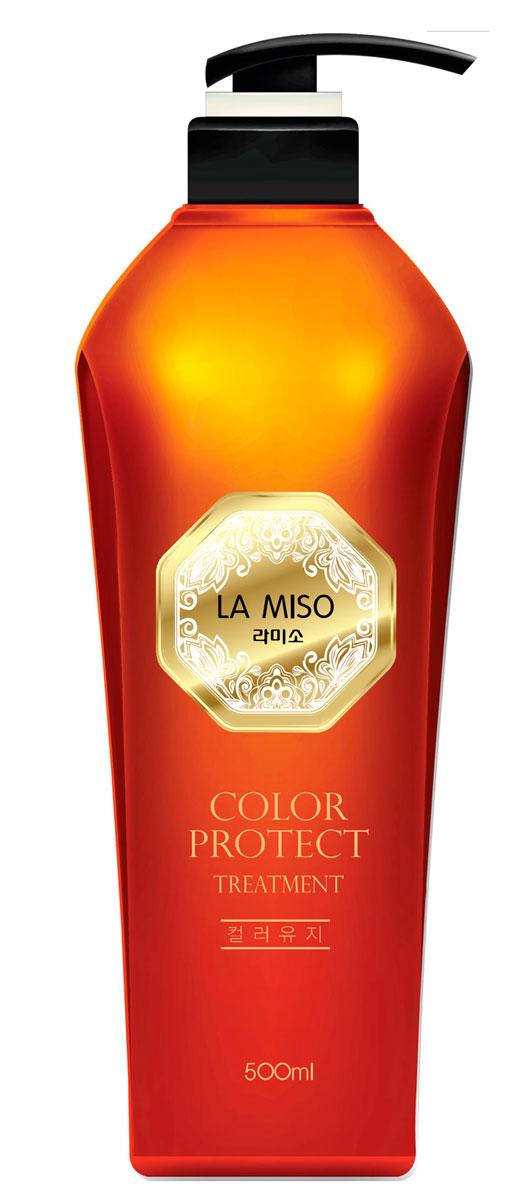 La Miso Кондиционер для сохранения цвета волос, Color Protect, 500 мл8809212591663В состав серии COLOR PROTECT входит экстракт аира тростникового, содержащий множество полезных для волос витаминов и минералов. Он помогает предотвратить выпадение, усиливает рост волос. Экстракт аира тростникового в составе средства придает эластичность и упругость поврежденным в результате окрашивания волосам и дарит им здоровый блеск. При регулярном применении кондиционер с экстрактом аира тростникового смягчает и разглаживает волосы. Средство способствует поддержанию интенсивности оттенка окрашенных волос. Гидролизованные шелк и кератин в составе кондиционера значительно улучшают структуру волос, восстанавливая и придавая им здоровый блеск и силу. Масло виноградных косточек интенсивно питает. Гидролизованный коллаген насыщает волосы влагой. В состав серии COLOR PROTECT входит экстракт аира тростникового, содержащий множество полезных для волос витаминов и минералов.