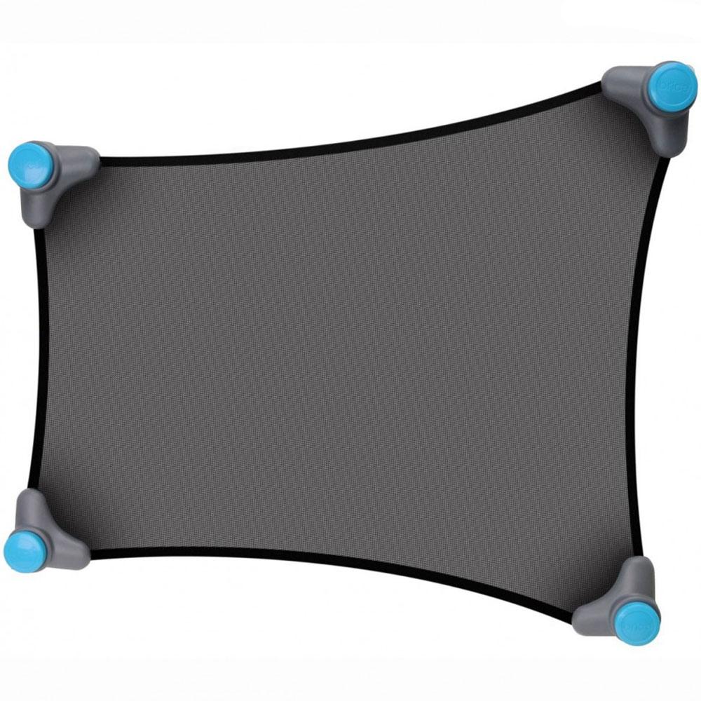 Munchkin Солнцезащитная шторка для автомобиля Stretch-to-Fit Sun Shade12030Солнцезащитная шторка для автомобиля Munchkin Stretch-to-Fit Sun Shade предназначена для защиты ребенка от прямых солнечных лучей во время поездок на автомобиле. Шторка представляет собой особое тонкое сетчатое полотно Opti-view, которое с помощью присосок легко крепится к окну автомобиля. Благодаря эластичности, шторка прекрасно подойдет для автомобильного окна практически любой формы и размера. Малыш теперь сможет спокойно вздремнуть во время путешествия или разглядывать интересные пейзажи за окном - яркие лучи солнца не будут его тревожить!