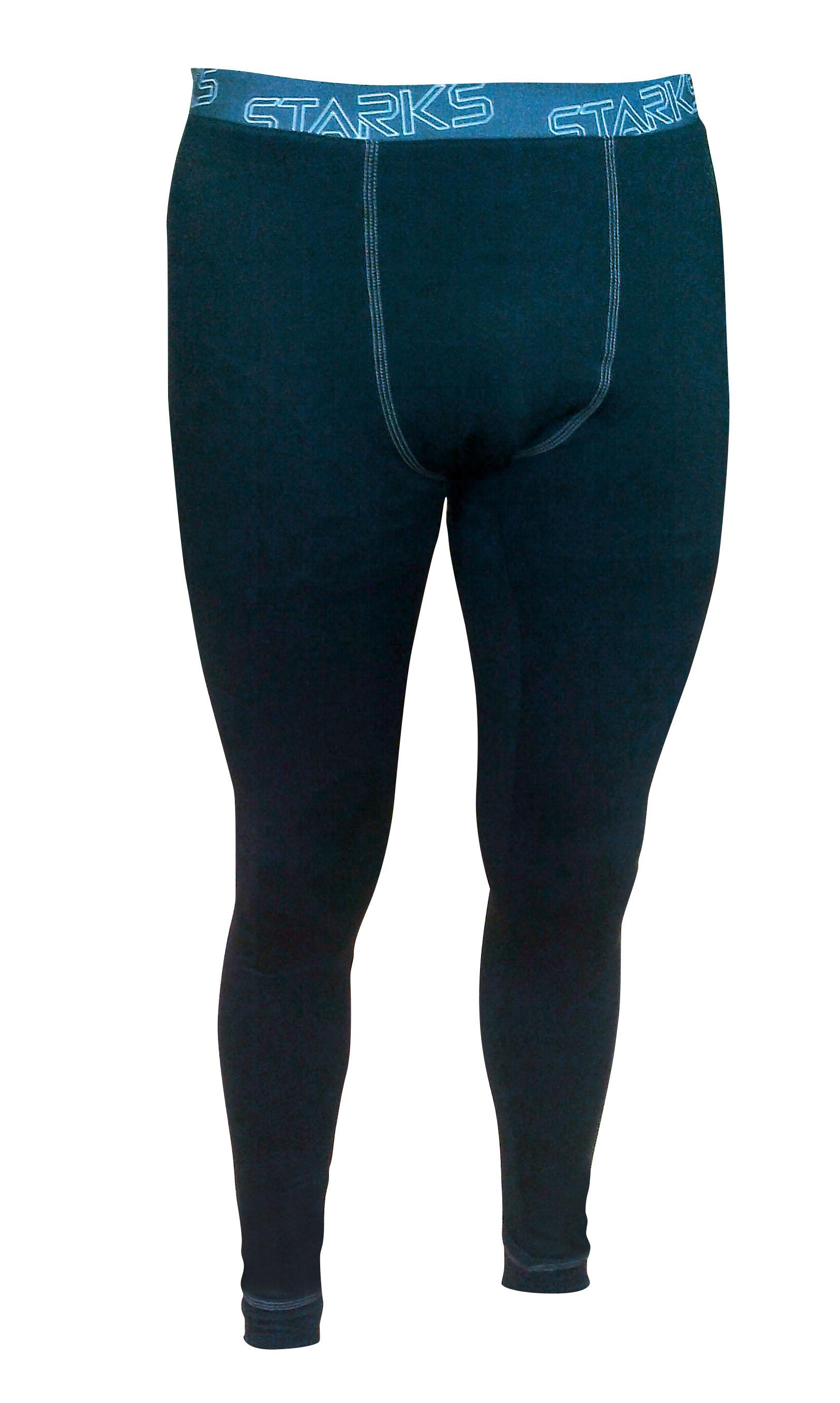 """Термобелье брюки мужские Starks """"Warm"""", зимние, цвет: черный. Размер S"""