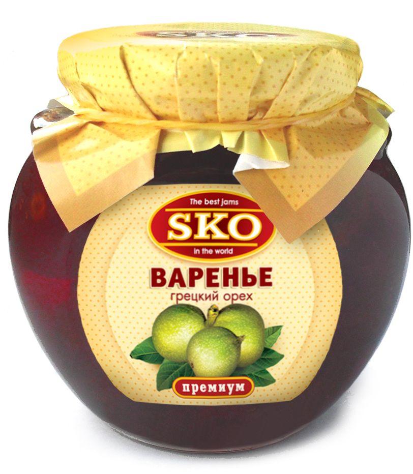 SKO варенье грецких орехов, 314 мл