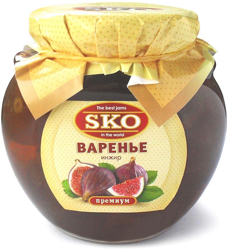 SKO варенье из инжира, 400 г11008Варенье из инжира SKO - армянское варенье, приготовленное по домашним рецептам и современным технологиям, не содержит пектина. Может использоваться для приготовления пирогов, тортов и других разнообразных десертов, а также в качестве самостоятельного лакомства. Варенье из инжира - это природная кладовая полезных веществ для организма человека. Соплодия инжира богаты аскорбиновой кислотой, витаминами группы B, минеральными веществами, сахарами, фосфором, калием, кальцием, железом, натрием и клетчаткой. Причем, что касается минеральных веществ, инжир можно смело назвать чемпионом среди фруктов по их содержанию.