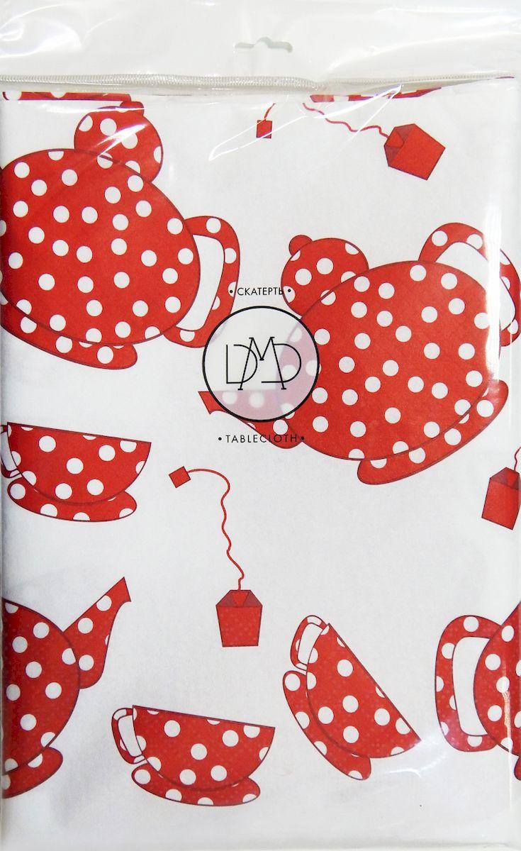 Скатерть бумажная DMD Чайный набор, 120х180 см, цвет: красный15459Для бытового и санитарно-гигиенического назначения одноразового использования.