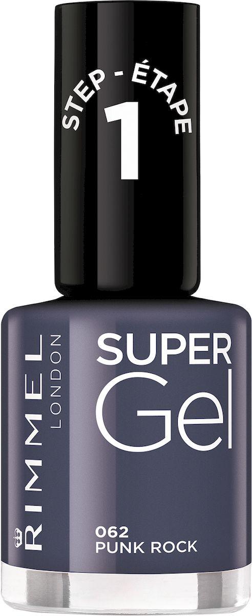 Rimmel Super Gel Nail polish Гель-лак для ногтей, тон 062 пастельно-небесный, 12 мл34776273062Коллекция эксклюзивных оттенков от Кейт Мосс для еще более модного гелевого маникюра! STEP 13