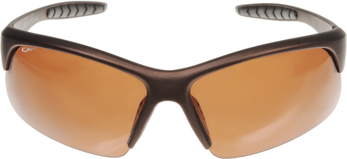 Очки поляризационные Cafa France, цвет: коричневый. CF257/2