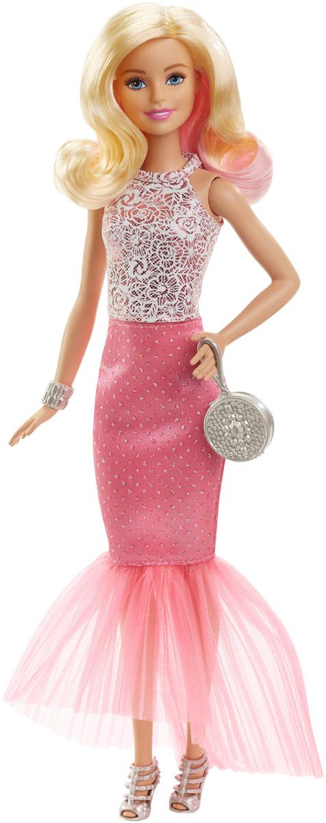 Barbie Кукла Барби в вечернем наряде цвет одежды светло-розовый