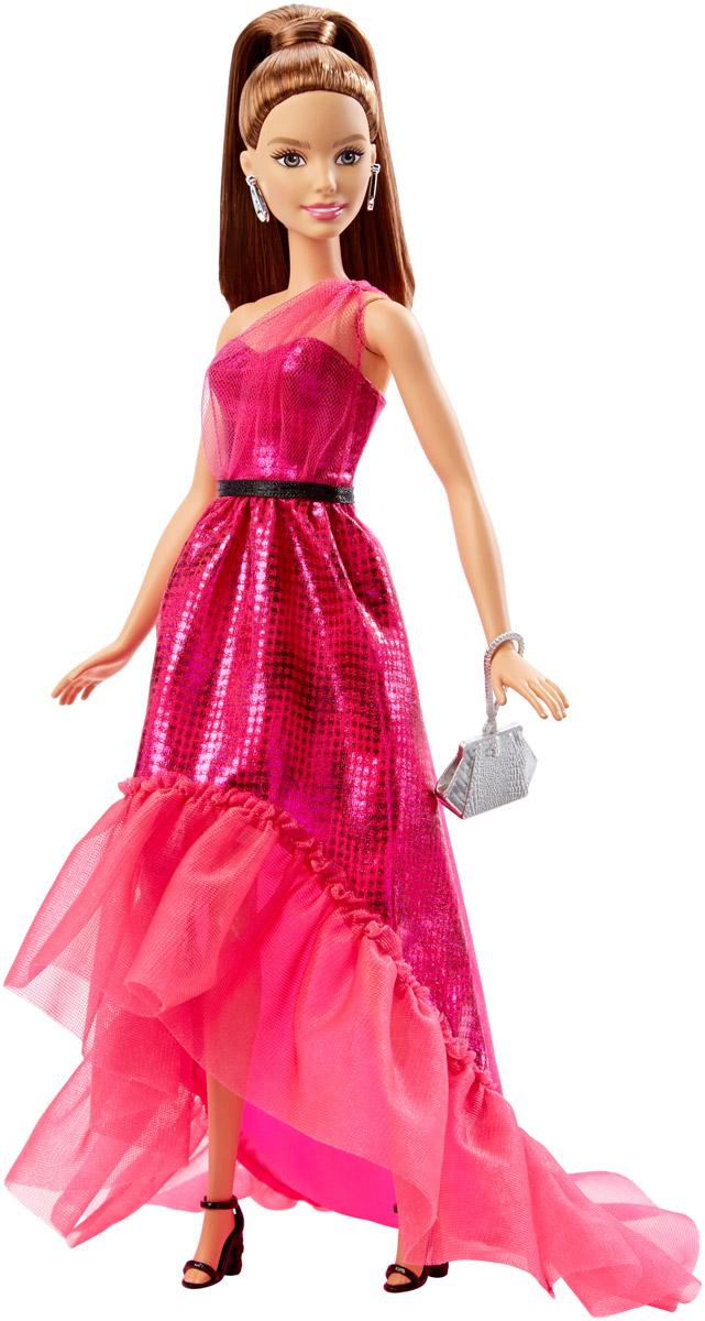 Barbie Кукла Барби в вечернем платье цвет платья ярко-розовый