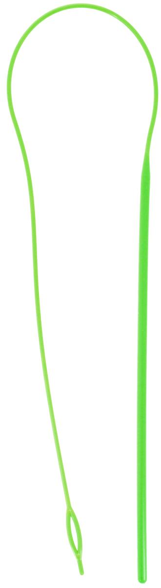 Устройство для продевания резинки в изделие Hemline Гнущаяся игла, цвет: салатовый219Устройство Hemline Гнущаяся игла, выполненное из пластика, позволяет быстро и просто помещать резинку в любой предмет одежды. Отлично подходит для пижам, капюшонов, свитеров, курток, трусов. Длина изделия: 63 см.