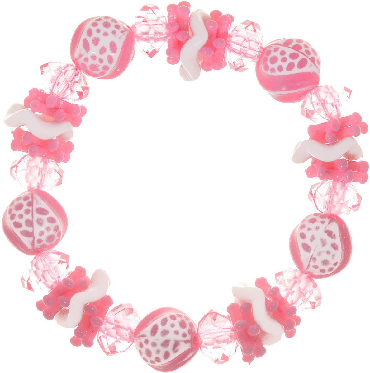 Baby\'s Joy Резинка для волос Шарики цвет розовый ( VT 435_розовый )