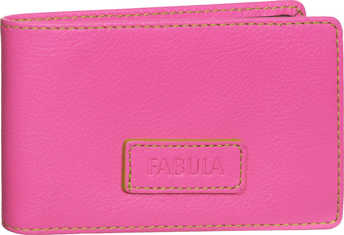 Визитница женская Fabula Ultra, цвет: розовый. V.90.FPV.90.FP.розовыйСтильная горизонтальная визитница Fabula Ultra выполнена из натуральной кожи, оформлена нашивкой с тиснением в виде названия бренда и контрастной отстрочкой. Изделие раскладывается пополам. Внутри визитницы расположен вкладыш из прозрачного ПВХ, который включает в себя двадцать файлов для визиток или кредитных карт. Изделие поставляется в фирменной упаковке. Визитница Fabula Ultra станет отличным подарком для человека, ценящего качественные и практичные вещи.