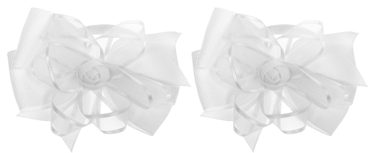 Babys Joy Резинка для волос Бант цвет белый 2 шт MN 141/2MN 141/2Резинка для волос Babys Joy Бант изготовлена из текстиля и дополнена милым бантиком. Резинка для волос подчеркнет уникальность вашей маленькой модницы и станет прекрасным дополнением к ее неповторимому стилю. В комплекте 2 резинки. Рекомендовано для детей старше трех лет.