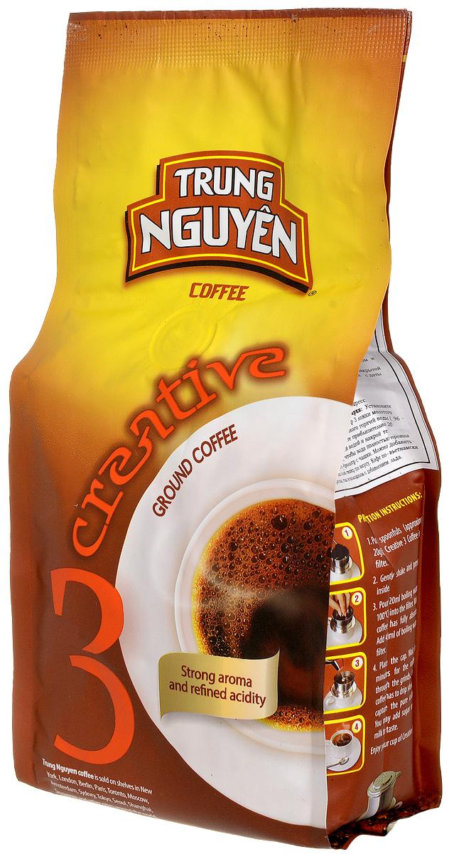 Trung Nguyen Creative 3 кофе молотый, 250 г8935024142042Trung Nguyen Creative 3 - сильный аромат с изысканной кислинкой! Самый популярный вид кофе в мире, выращивают исключительно во Вьетнаме - Арабика Se. Приставка Se означает Sparrow (воробей). Сбалансированный вьетнамский кофе из сложной смеси отдельно обжаренных кофейных зерен. Это усиливает характер Арабики. Сильный аромат с цветочным и сладким вкусом ванили с легкой кислинкой. Вы можете наслаждаться этим универсальным напитком в любое время суток, благодаря природной сладости - заменяет десерт. Приготовить всегда вкусный и ароматный напиток, не смотря на количество кофе при заварки, поможет отсутствие горечи. Коллекция Creative – классика легендарного вьетнамского кофе Trung Nguyen. Непревзойденный кофе получается из кофейных зерен превосходного качества. Благодаря усилиям фермеров, их квалификации, неугасающему энтузиазму и соблюдению традиционной и многовековой рецептуре, вы можете насладиться неоценимым источником ароматов и вкусов этой коллекции.
