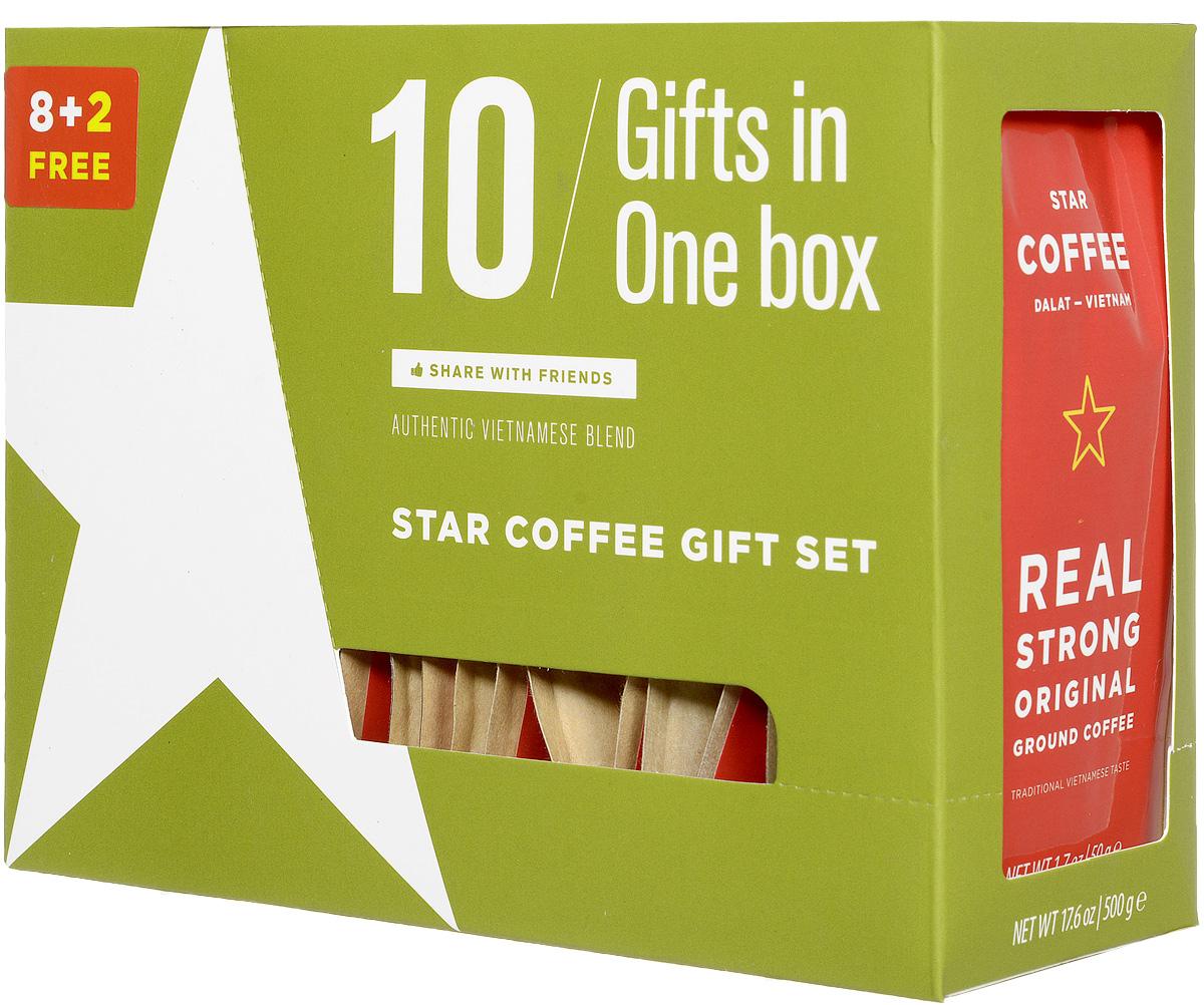 Sense Asia Star Coffee молотый кофе, 500 г 8938506647592
