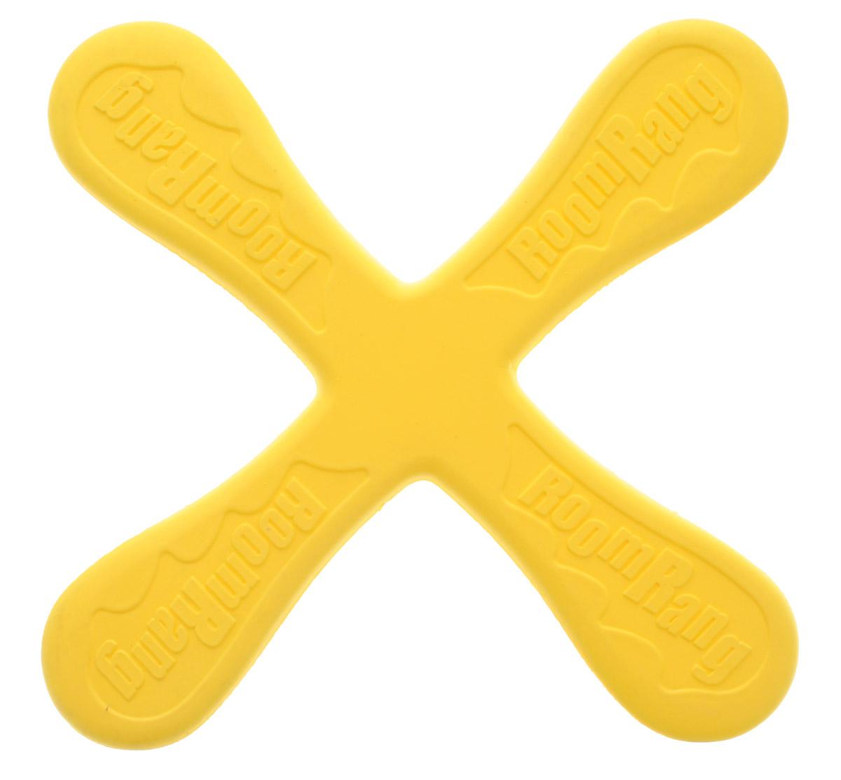 Zilmer Бумеранг Веселый ветер цвет желтыйZIL1810-011_жёлтыйЭффектное игровое представление обеспечит приобретение яркого бумеранга Zilmer Веселый ветер. Игрушка идеально подходит для активных игр дома, на улице, на пляже, а также во время семейного отдыха на природе. Детишки будут с удовольствием бросать бумеранг, наслаждаясь зрелищем полета и ловить его, когда он опишет круг. Бумеранг Zilmer Веселый ветер благоприятно влияет на развитие ловкости и координации движений, меткости и мелкой моторики. Изделие легко очищается от внешних загрязнений, выполнено из прочного, мягкого на ощупь и совершенно безопасного для игр материала.