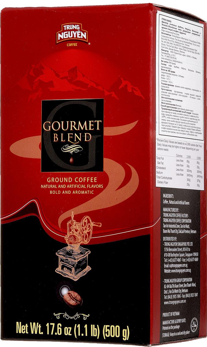 Trung Nguyen Gourmet Blend кофе молотый, 500 г 8935024145265