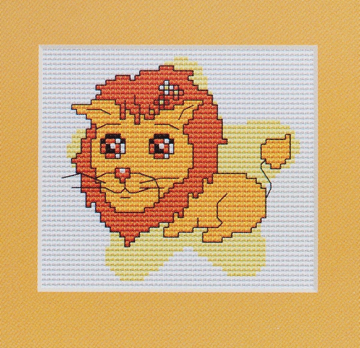 Набор для вышивания крестом Luca-S Лев, 10 х 9,5 смB054Набор для вышивания крестом Luca-S Лев поможет вам создать свой личный шедевр - красивую картину, вышитую нитками мулине в технике счетный крест. Работа, выполненная своими руками, станет отличным подарком для друзей и близких! В набор входит: - белая канва Aida Zweigart 14 (хлопок) без рисунка размером 10 х 9,5 см, - мулине Anchor 6 цветов, - игла, - цветная схема для вышивания.