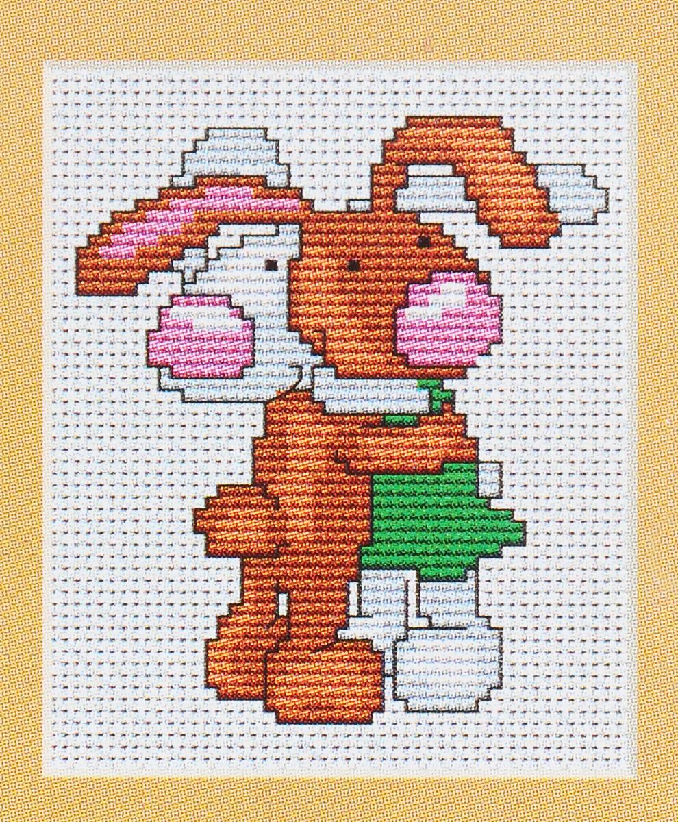 Набор для вышивания крестом Luca-S Зайчики, 8 х 9 смB040Набор для вышивания крестом Luca-S Зайчики поможет вам создать свой личный шедевр - красивую картину, вышитую нитками мулине в технике счетный крест. Работа, выполненная своими руками, станет отличным подарком для друзей и близких! В набор входит: - белая канва Aida Zweigart 14 (хлопок) без рисунка размером 8 х 9 см, - мулине Anchor 7 цветов, - игла, - цветная схема для вышивания.