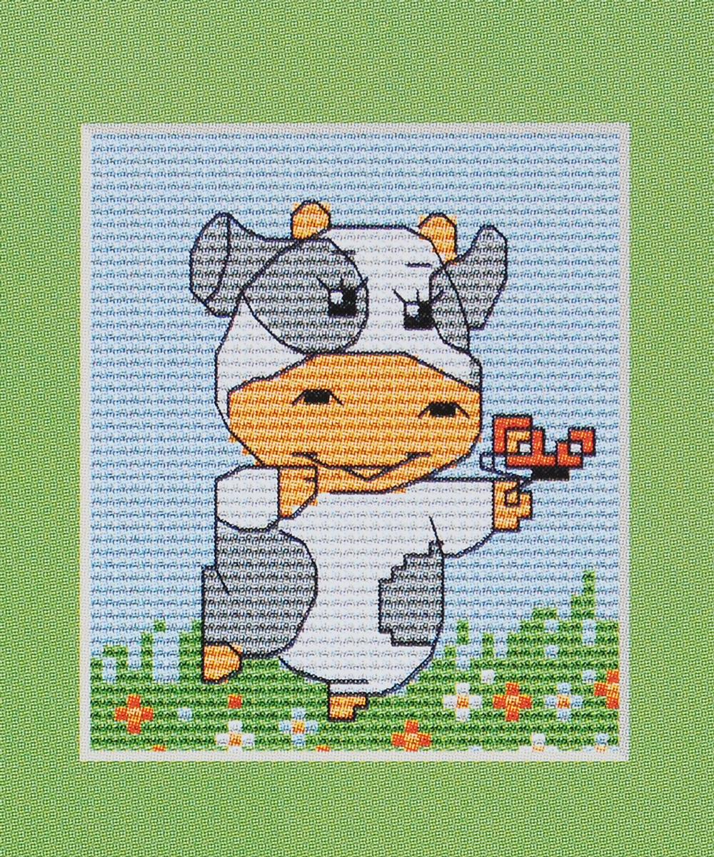 Набор для вышивания крестом Luca-S Коровка, 9 х 7,5 смB072Набор для вышивания крестом Luca-S Коровка поможет вам создать свой личный шедевр - красивую картину, вышитую нитками мулине в технике счетный крест. Работа, выполненная своими руками, станет отличным подарком для друзей и близких! В набор входит: - белая канва Aida Zweigart 14 (хлопок) без рисунка размером 9 х 7,5 см, - мулине Anchor 7 цветов, - игла, - цветная схема для вышивания.