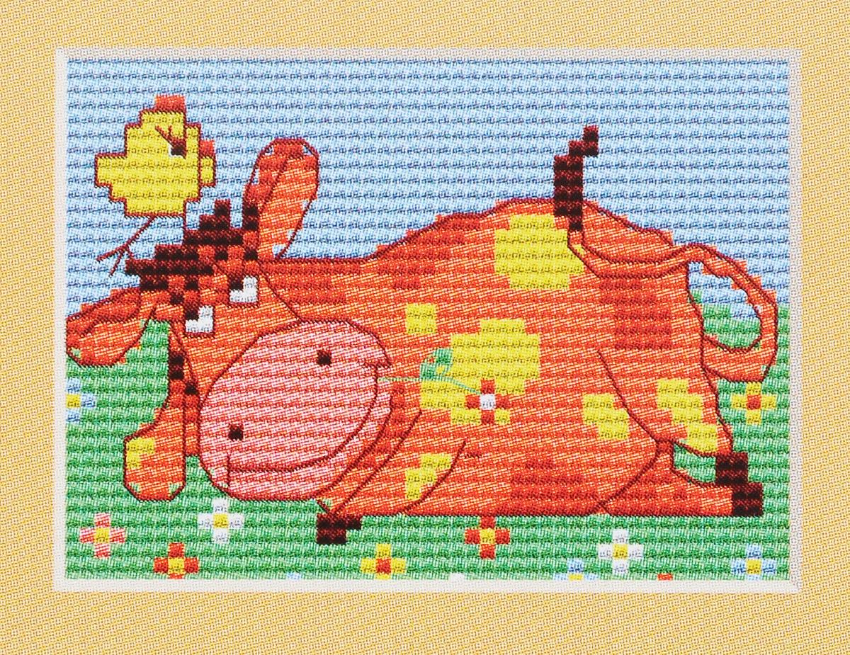 Набор для вышивания крестом Luca-S Корова, 9,5 х 7 смB046Набор для вышивания крестом Luca-S Корова поможет вам создать свой личный шедевр - красивую картину, вышитую нитками мулине в технике счетный крест. Работа, выполненная своими руками, станет отличным подарком для друзей и близких! В набор входит: - белая канва Aida Zweigart 14 (хлопок) без рисунка размером 9,5 х 7 см, - мулине Anchor 8 цветов, - игла, - цветная схема для вышивания.