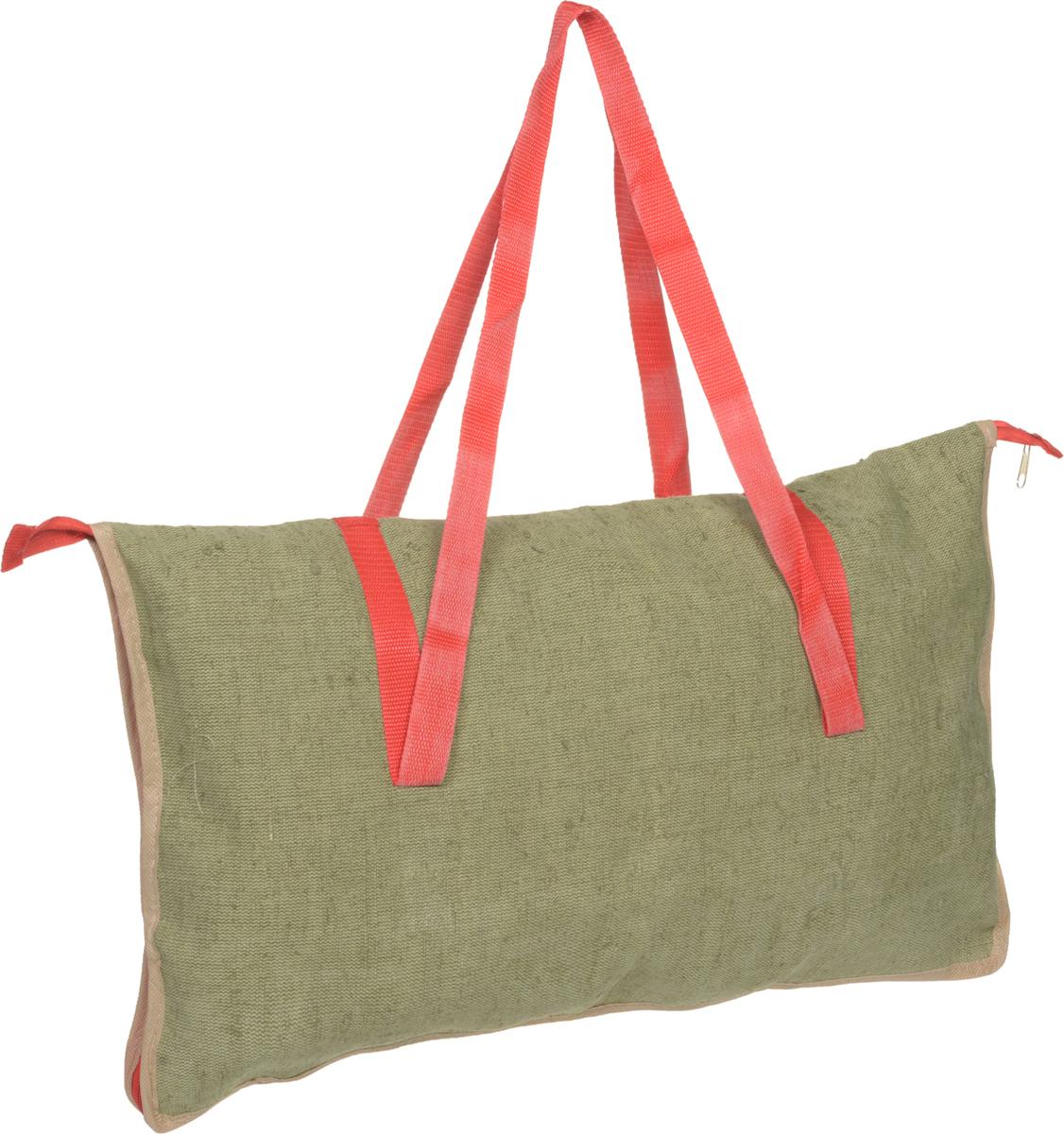 Сумка для мангала Eva, с молнией, цвет: зеленый, красный, 36 х 62 смК24_зеленый, красныйСумка Eva изготовлена из цветного хлопка с леном и предназначена для переноски мангала на пикнике и в туристических походах. Изделие оснащено двумя удобными ручками и молнией. Сумка Eva станет незаменимым аксессуаром на вашем отдыхе! Размер сумки: 36 х 62 см. Высота ручек: 40 см.