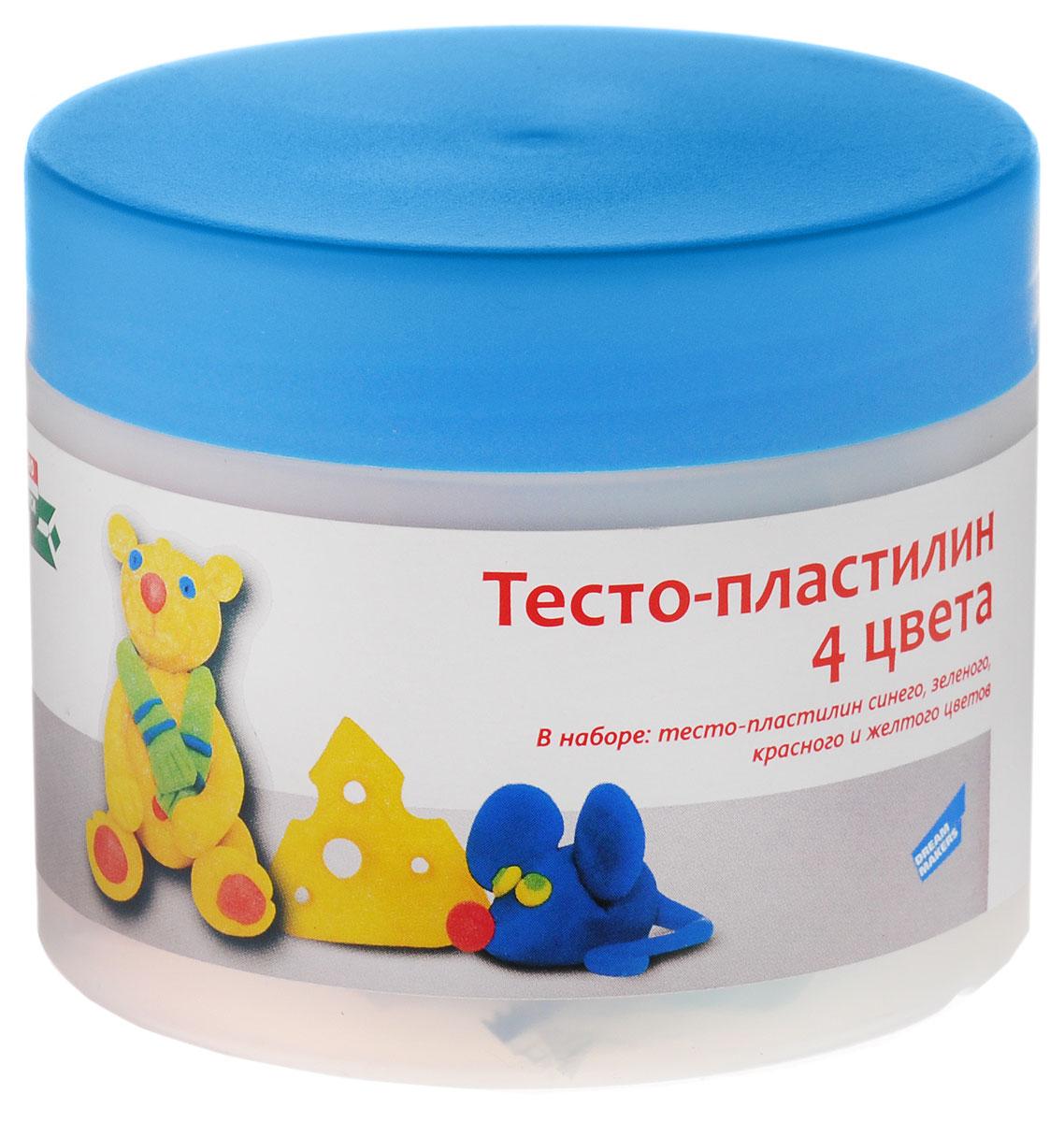 Genio Kids Тесто-пластилин 4 цвета TA1055