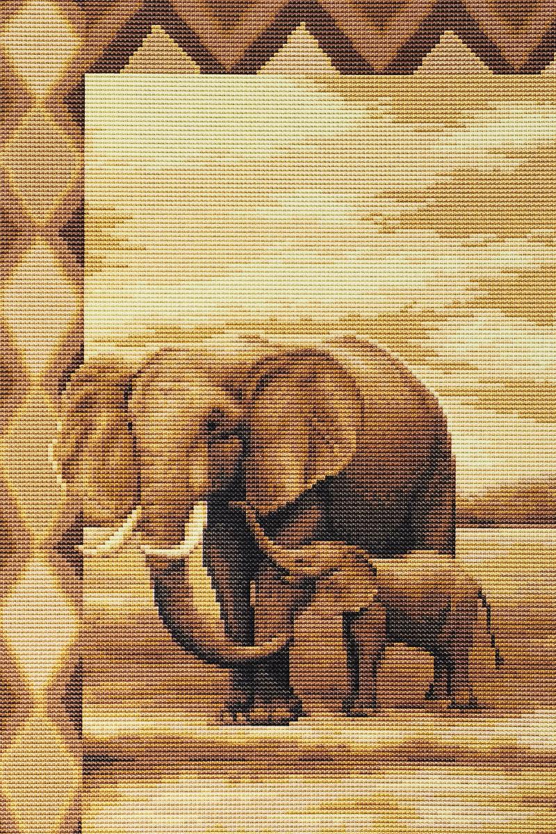 Набор для вышивания крестом Luca-S Слоны, 20,5 х 31,5 смB2226Набор для вышивания крестом Luca-S Слоны поможет создать красивую вышитую картину. Рисунок-вышивка, выполненный на канве, выглядит стильно и модно. Вышивание отвлечет вас от повседневных забот и превратится в увлекательное занятие! Работа, созданная своими руками, не только украсит интерьер дома, придав ему уют и оригинальность, но и будет отличным подарком для друзей и близких! Набор содержит все необходимые материалы для вышивки на канве в технике счетный крест. В набор входит: - канва Aida Zweigart №16 (бежевого цвета), - мулине Anchor - 100% мерсеризованный хлопок (19 цветов), - черно-белая символьная схема, - инструкция, - игла. Размер готовой работы: 20,5 х 31,5 см. Размер канвы: 41 х 30 см.