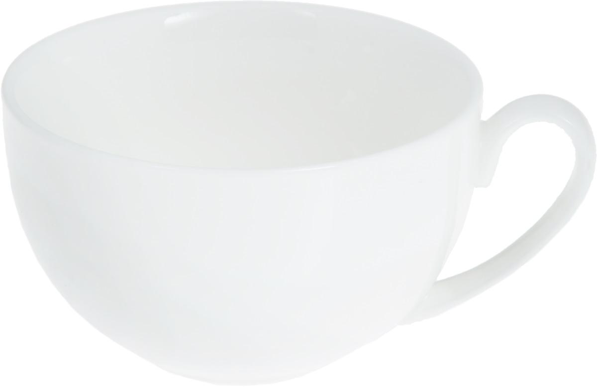 Чашка чайная Wilmax, 250 млWL-993000 / AЧайная чашка Wilmax изготовлена из высококачественного фарфора, покрытого глазурью. Такая чашка пригодится в любом хозяйстве, она функциональная, практичная и легкая в уходе. Диаметр (по верхнему краю): 9,5 см. Высота стенки: 6 см.