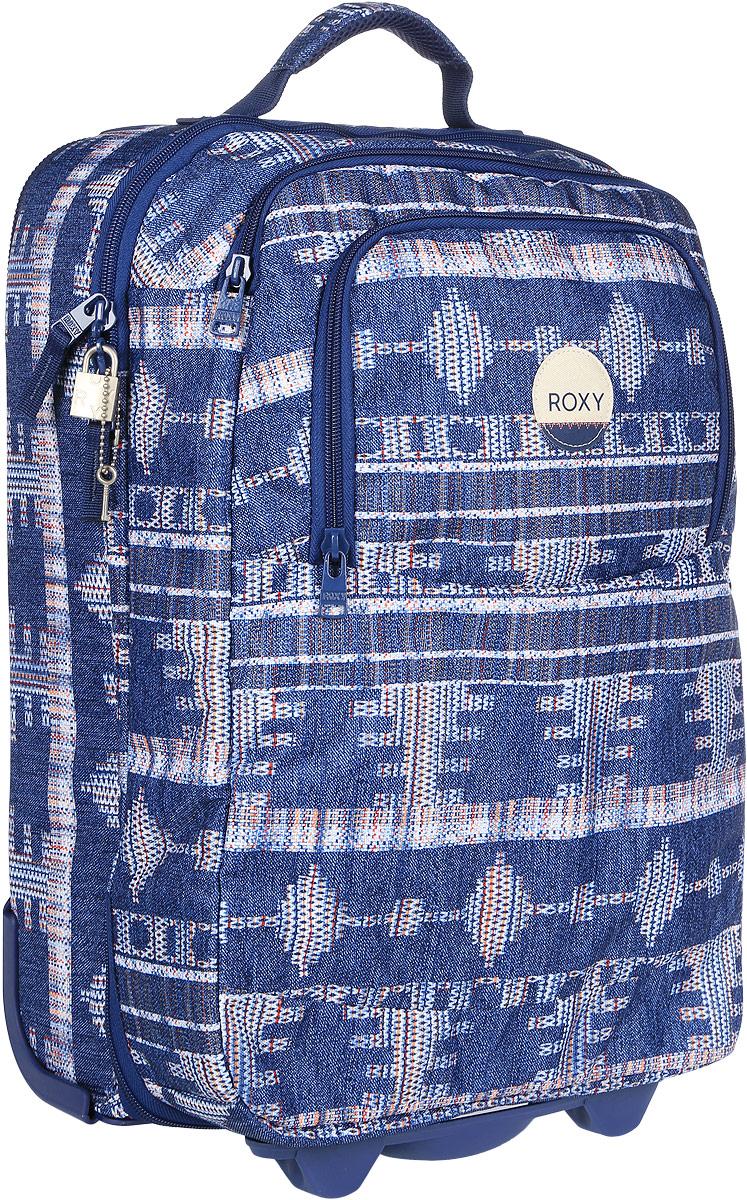 Чемодан Roxy, цвет: синий. ERJBL03072-BSQ7