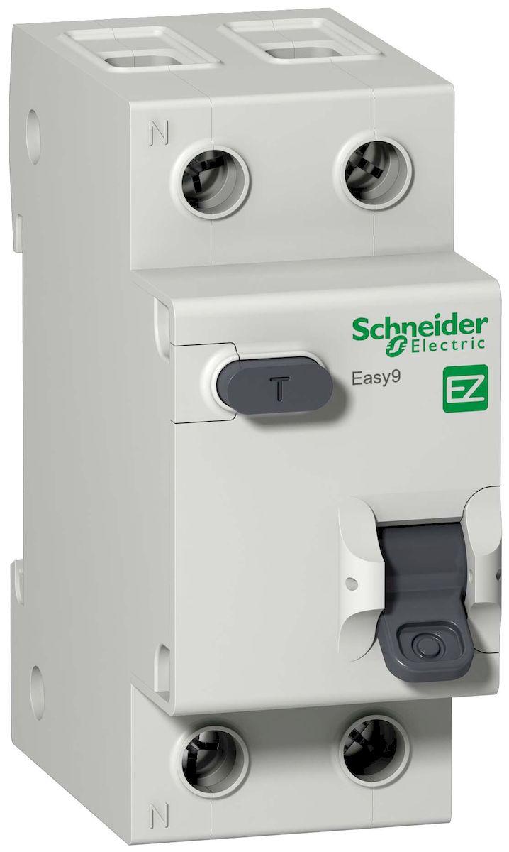 Диффавтомат (АВДТ) Schneider Electric Easy 9, 1П+Н 25А 30мА C AC 4,5кА 230В. EZ9D34625EZ9D34625Диффавтомат (АВДТ) 1П+Н 25А 30мА C AC 4,5кА 230В Schneider Electric Easy 9 EZ9D34625