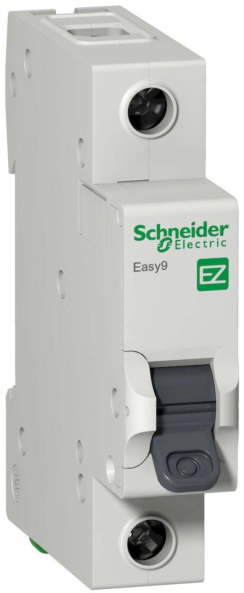 Автоматический выключатель Schneider Electric Easy 9, 1П 16А С 4,5кА 230В. EZ9F34116EZ9F34116Автоматический выключатель 1П 16А С 4,5кА 230В Schneider Electric Easy 9 EZ9F34116