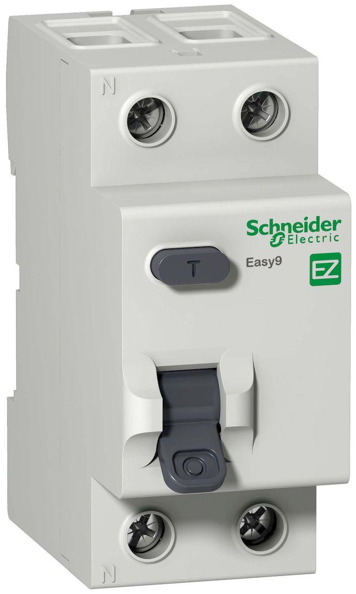 УЗО (ВДТ) Schneider Electric Easy 9, 2П 25А 30мА AC 230В. EZ9R34225EZ9R34225УЗО (ВДТ) 2П 25А 30мА AC 230В Schneider Electric Easy 9 EZ9R34225