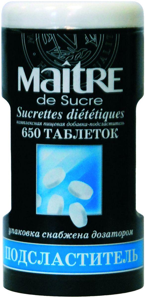 Maitre de Sucre подсластитель, 650 шт
