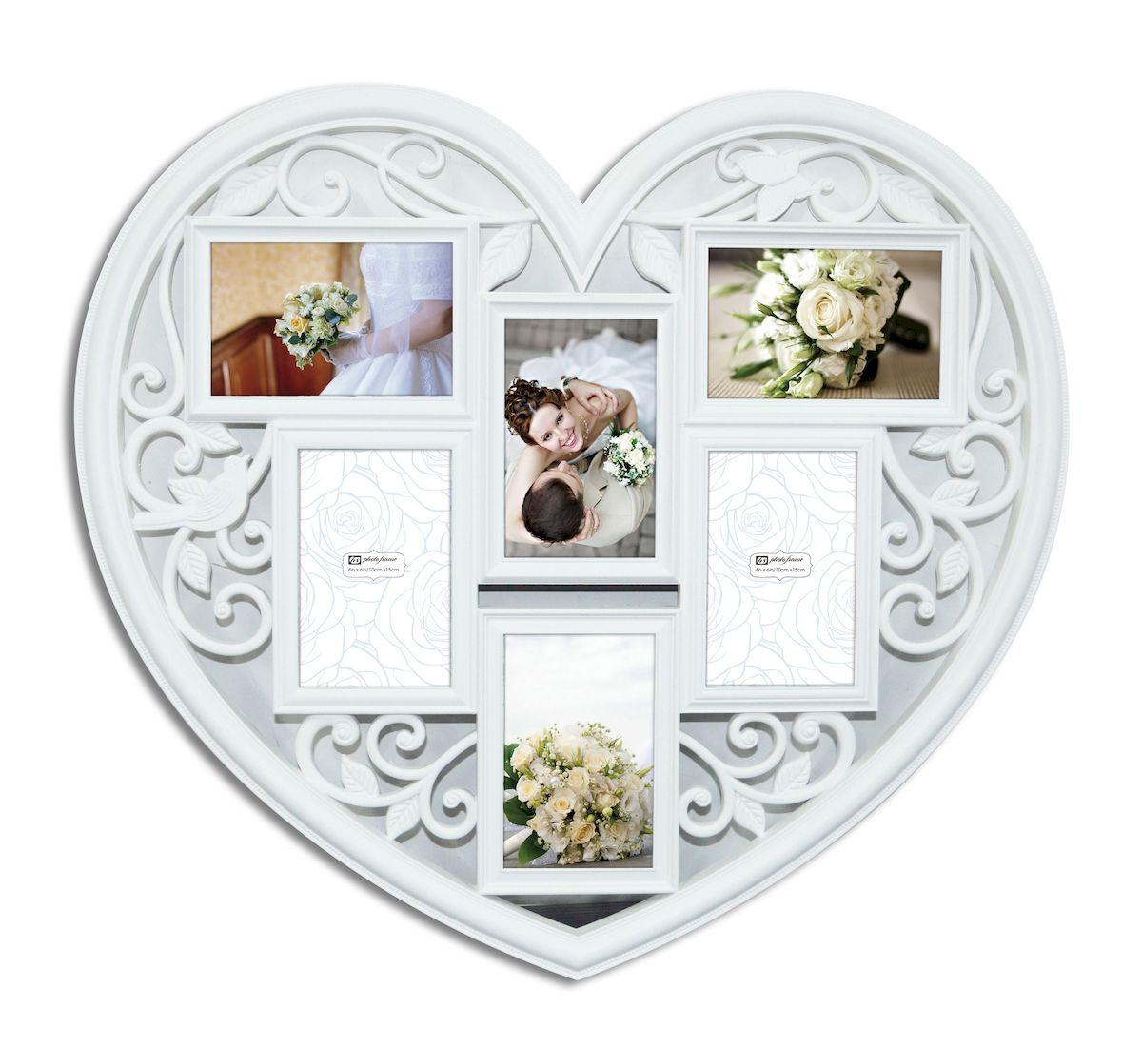 Фоторамка декоративная Magic Home Сердце, 57,5х53,5х2см. 4147141471
