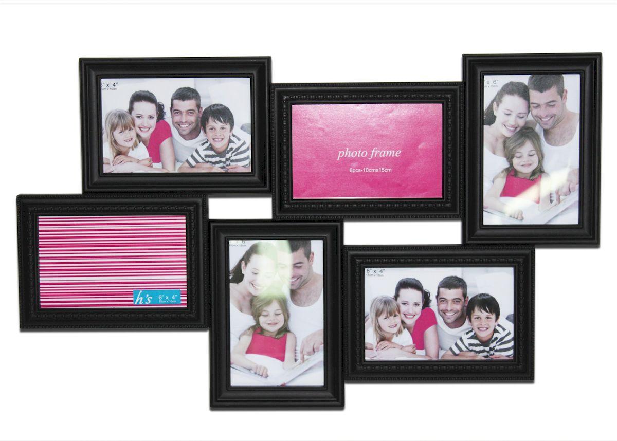 Фоторамка декоративная Magic Home Яркие эмоции, на 6 фотографий, 54,8 х 33,8 х 2,8 см41474Оригинальная декоративная рамка для фотографий Magic Home Моменты радости, поможет сохранить самые теплые и яркие моменты жизни. В рамке можно разместить 6 любимых фотографий.