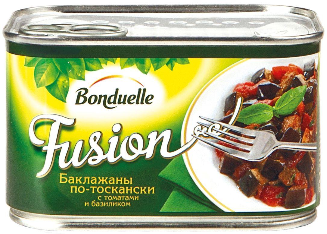 Bonduelle Фьюжн баклажаны по-тоскански, 375 г
