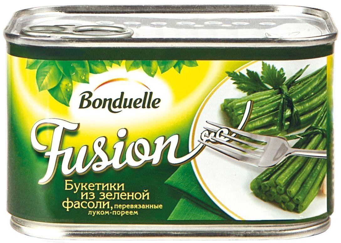 Bonduelle Фьюжн букетики из зеленой фасоли, 400 г
