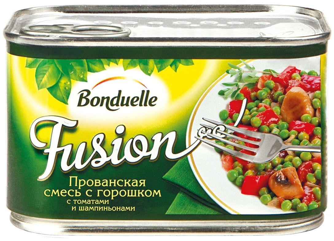 Bonduelle прованская смесь с горошком, 375 г