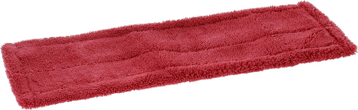 Насадка для швабры Мультидом Мойдодыр, цвет: малиновый, 43 х 13,5 х 1 смLT58-79_малиновыйСменная насадка для швабры Мультидом Мойдодыр выполнена из микрофибры (80% полиэстер, 20% полиамид). Насадки из микроволокна обладают несколькими важными достоинствами: микроволокно в сухом виде в процессе протирания поверхности электризуется и притягивает к себе мельчайшие частицы пыли, а не разгоняет их по комнате. При влажной уборке, благодаря способности микрофибрового волокна поглощать влагу в семь раз больше самой ткани, насадка хорошо впитывает и удерживает влагу, забирает в структуру ткани любые загрязнения, не оставляет разводов. Использование насадки для швабры Мультидом Мойдодыр позволяет очистить любые поверхности от пыли и грязи без использования химических средств.
