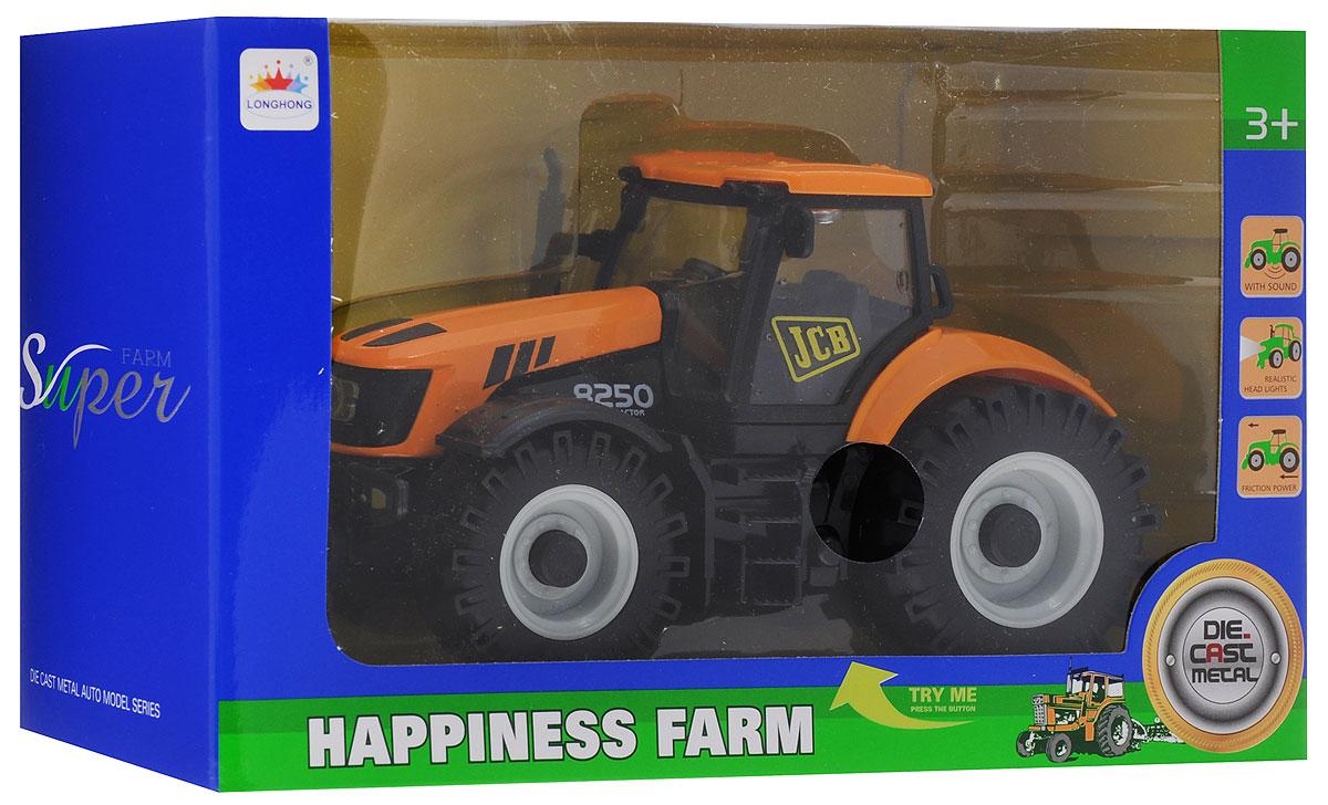 Junfa Toys Трактор инерционный Happiness Farm