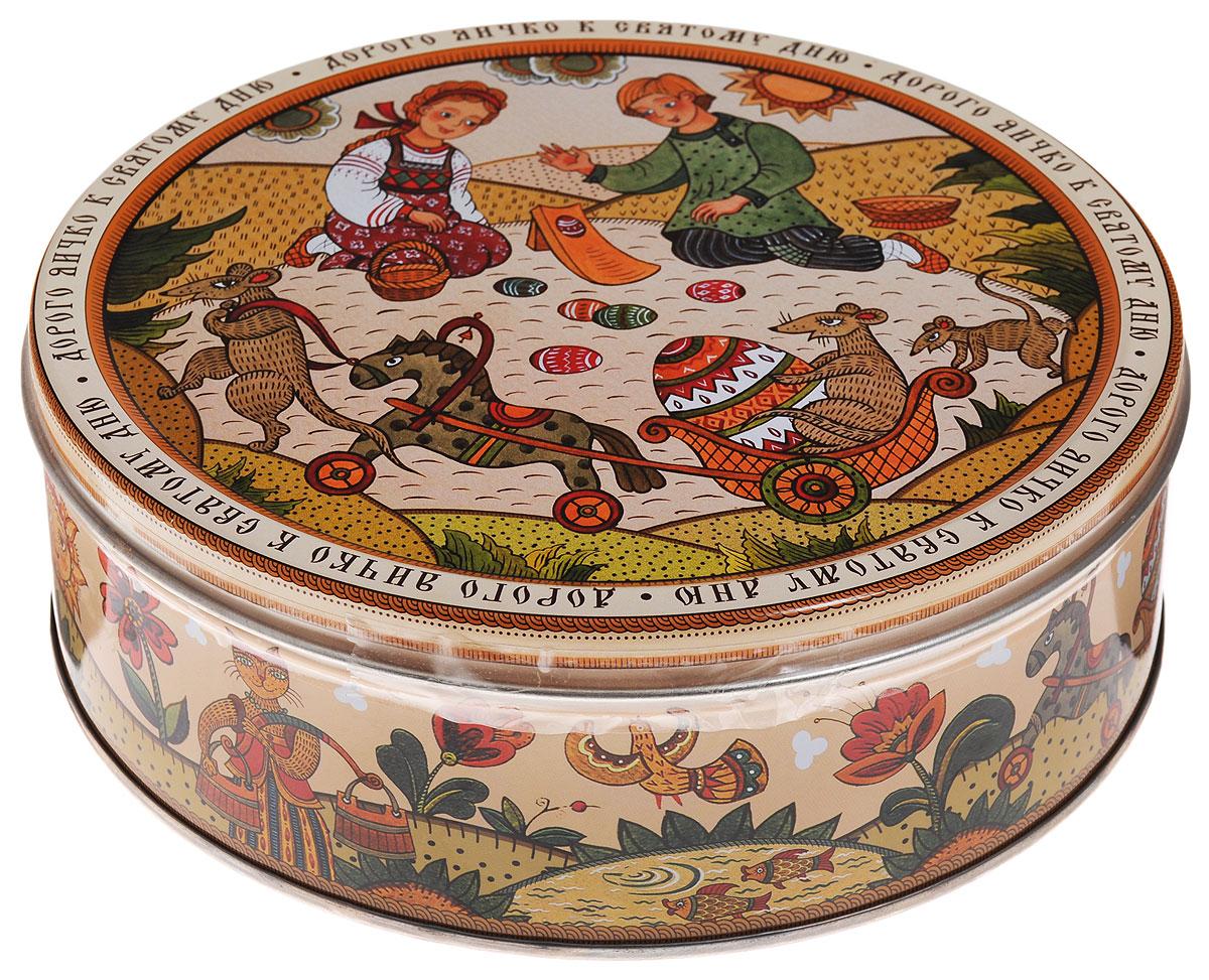 Monte Christo Лубок печенье с кусочками шоколада, 400 г4600416016969_дорого яичкоMonte Christo Лубок - 100% сдобное печенье с кусочками шоколада. Упаковано в металлическую банку, оформленную ярким рисунком. Такое печенье станет оригинальным подарком к любому значимому событию.