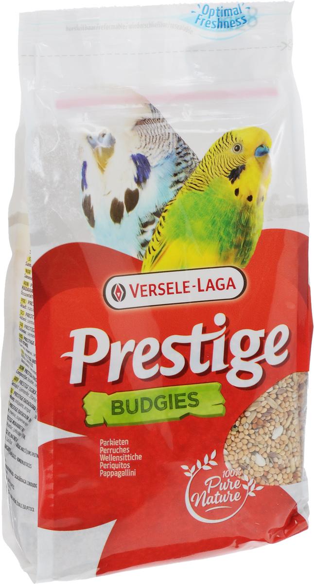 Корм для волнистых попугаев Versele-Laga Prestige Budgies, 500 г421617Корм Versele-Laga Prestige Budgies - это традиционная полнорационная смесь для волнистых попугаев, а также других мелких пород. В состав данной высококачественной смеси входят разнообразные сбалансированные компоненты, особым образом подобранные в соответствии со специфическими пищевыми потребностями попугаев. Корм содержит злаки и семена, обеспечивающие оптимальную кондицию и пищеварение. Товар сертифицирован.