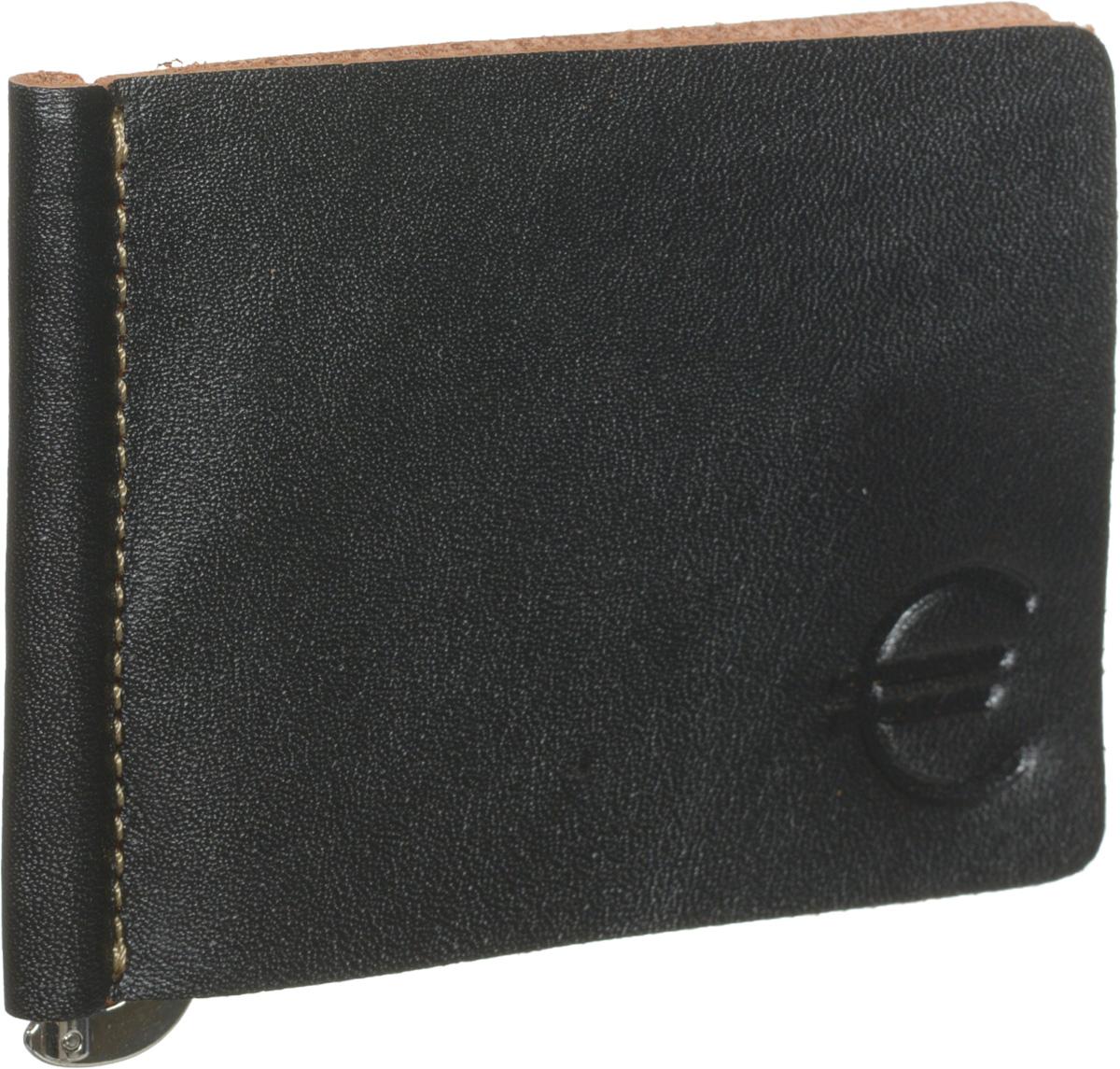 Зажим для купюр мужской Fabula Kansas, цвет: черный. Z.7.TXFZ.7.TXF.черныйЗажим для купюр Fabula из коллекции Kansas выполнен в толстой винтажной коже, оформлен контрастной отделочной строчкой и тиснением знак евро. Изделие раскладывается пополам, на внутреннем развороте удобный металлический зажим для купюр. Зажим для купюр упакован в коробку из плотного картона с логотипом фирмы. Этот практичный зажим для купюр непременно подойдет к вашему образу, а также порадует вас своей простотой, стилем и функциональностью.