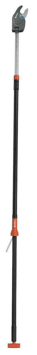 Высоторез Gardena Comfort 410 BL / Comfort, телескопический08782-20.000.00С телескопическим сучкорезом Gardena Comfort 410 BL / Comfort вы сможете достать до любой ветки на дереве. Даже в плотной кроне он легко срезает ветви диаметром до 32 мм. Этот сучкорез отличается телескопической алюминиевой рукояткой, длину которой можно менять в диапазоне от 230 до 410 см без необходимости повторной регулировки натяжного корда. Практичная функция: внутренний натяжной корд не путается в ветвях. Очень легкая и узкая режущая головка дает возможность с комфортом производить обрезку конкретных ветвей. Угол обрезки регулируется прямо с земли (до 200°), что позволяет точно срезать ветки, растущие в любом направлении. Лезвия специальной формы удерживают срезаемую ветку в оптимальном положении, обеспечивая особую легкость работы и чистоту среза. Внутренняя зубчатая передача увеличивает мощность срезания - это гарантирует невероятную простоту обрезки и экономию сил. Лезвия прецизионной заточки с покрытием от налипания облегчают срезание и при этом без труда очищаются. В то...