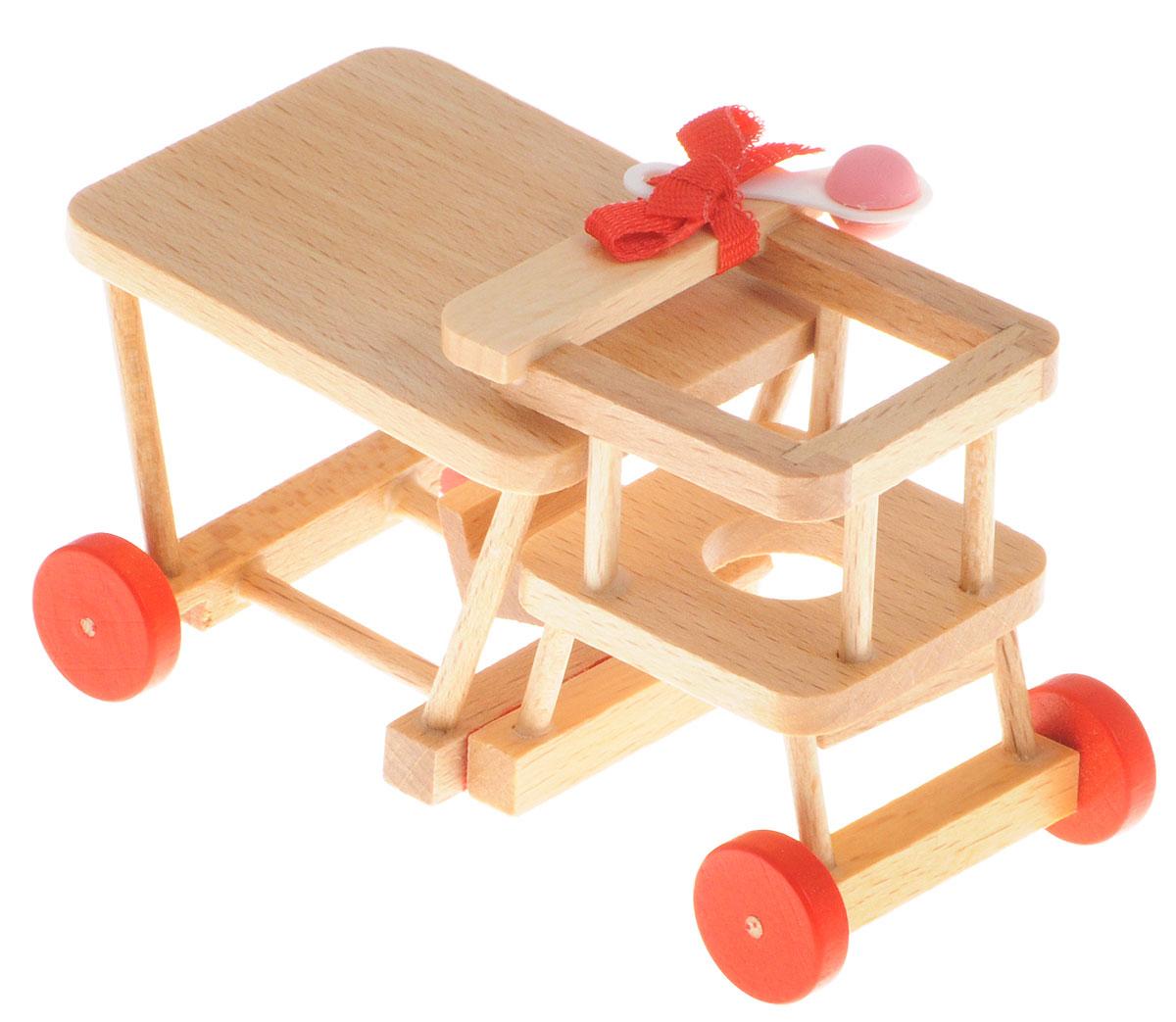Fritz Canzler Стульчик-трансформер для кормления кукол13-4882-00Стульчик-трансформер для кормления Fritz Canzler - это прекрасный аксессуар для игры с мини-куклами. Ваш ребенок может придумать и разыграть различные ситуации, используя кукол и стульчик для кормления. Игрушка изготовлена из высококачественного материала, в производстве используется древесина бука и клена. Стульчик-трансформер для кормления Fritz Canzler обеспечивает развитие и обучение вашего ребенка в процессе игры. Производство осуществляется в Германии.