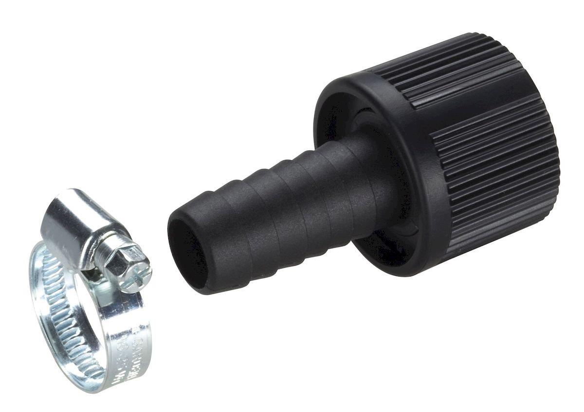 Коннектор для заборного шланга Gardena, 19 мм (3/4)01723-20.000.00Коннектор Gardena предназначен для герметичного соединения заборного шланга нужной длины с насосом. Для повышения надежности соединения в комплект поставки включен хомут. Коннектор диаметром 19 мм (3/4 дюйма); Внутренняя резьба 33,3 мм (G 1).