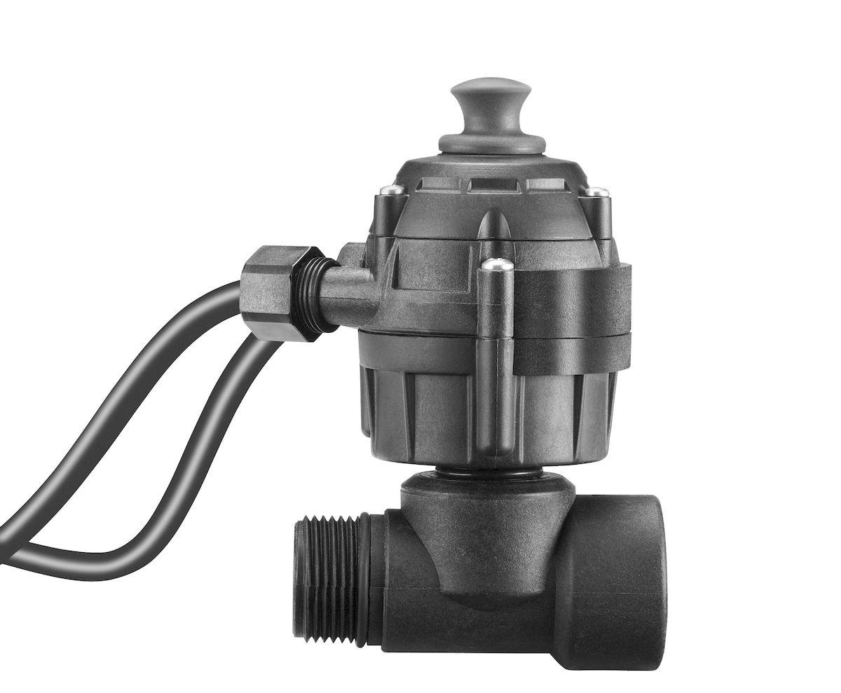 Gardena Защита от работы всухую01741-20.000.00Для автоматического выключения насоса при отсутствии воды, используется с садовыми насосами, погружными насосами высокого давления и станциями бытового водоснабжения