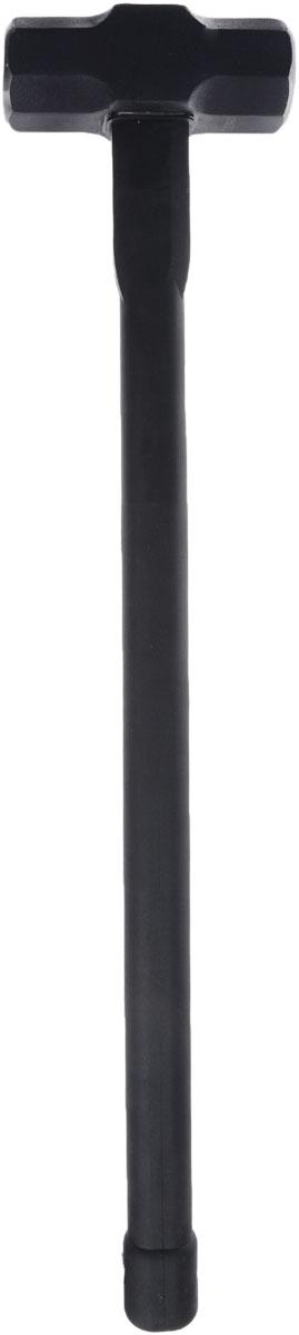 Кувалда ЗУБР Титан, 5 кг20108-5Кувалда ЗУБР Титан с особой формой головы предназначены для профессиональных работ в самых тяжелых условиях и отличаются максимальным сроком службы. Изделие оснащено прочной обрезиненной рукояткой, армированной стальными стержнями. ABT-технология позволяет максимально эффективно поглощать вибрации, возникающие при ударе. Рабочие части кувалды закалены токами высокой частоты. Голова выполнена из кованой высокоуглеродистой стали. Вес: 5 кг. Длина кувалды: 79,5 см. Размер головы: 18 х 6,5 х 6,5 см.