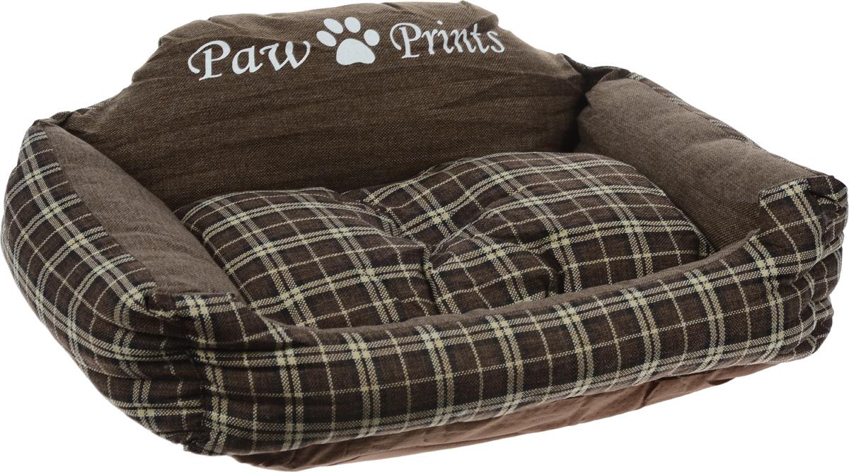 Лежак для животных Paw Prints, 73 x 61 x 29 см8977-1404Лежак для животных Paw Prints прекрасно подойдет для отдыха вашего домашнего питомца. Предназначен для собак средних пород. Изделие выполнено из прочной льняной ткани, декорированной принтом в клетку, и снабжено невысокими широкими бортиками. Внутри - наполнитель из полиэстерового волокна, который обеспечивает мягкость и упругость изделия. Лежак снабжен съемной подушкой. Основание изделия противоскользящее и водостойкое. Комфортный и уютный лежак обязательно понравится вашей собаке, животное сможет там отдохнуть и выспаться. Размер подушки: 55 х 45 х 10 см.
