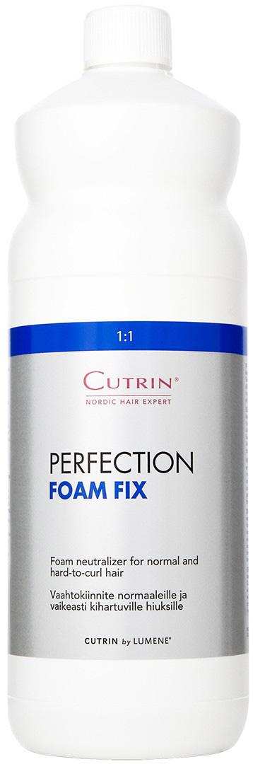 Cutrin Универсальный фиксатор для нормальных и трудно завиваемых волос Perfection Foam Fix, 1000 мл10094Универсальный фиксатор для нормальных и трудно завиваемых волос.