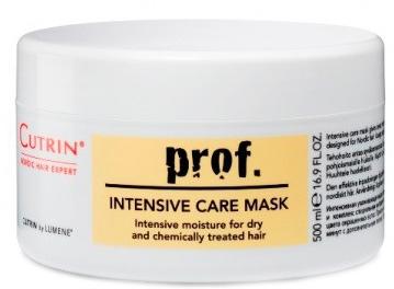 Cutrin Интенсивная ухаживающая маска для сухих и поврежденных волос Prof. Intensive Care Mask, 500 мл12250Богатая ухаживающими веществами маска интенсивно увлажняет сухие и химически обработанные волосы. Активный ингредиент маски. Пшеничный протеин глубоко проникает в структуру волос, восстанавливает, придает волосам жизненную силу, гладкость и блеск.
